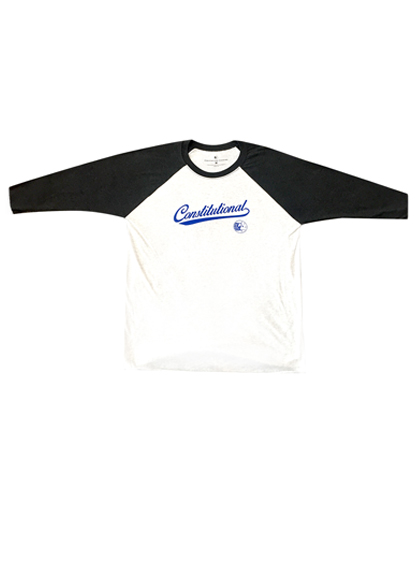 Constitutional Clothing RKG Basic Rights White Baseball Tee