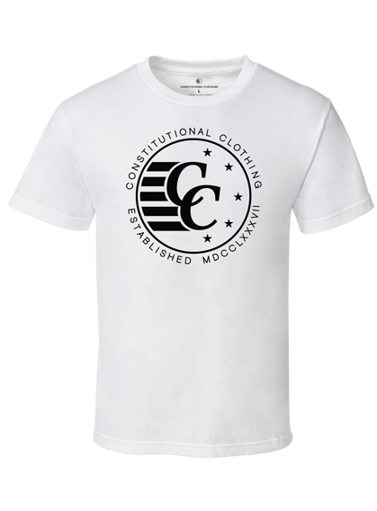 Constitutional Clothing RKG Signature White Tee